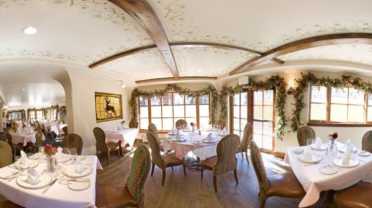 goldener hirsch inn private dining room