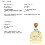 vida tequila reposado cheat sheet