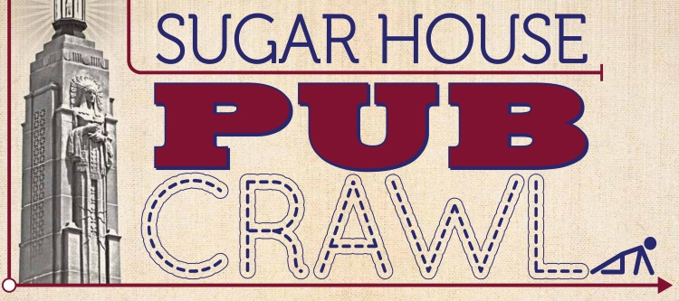 Sugar House Pub crawl logo