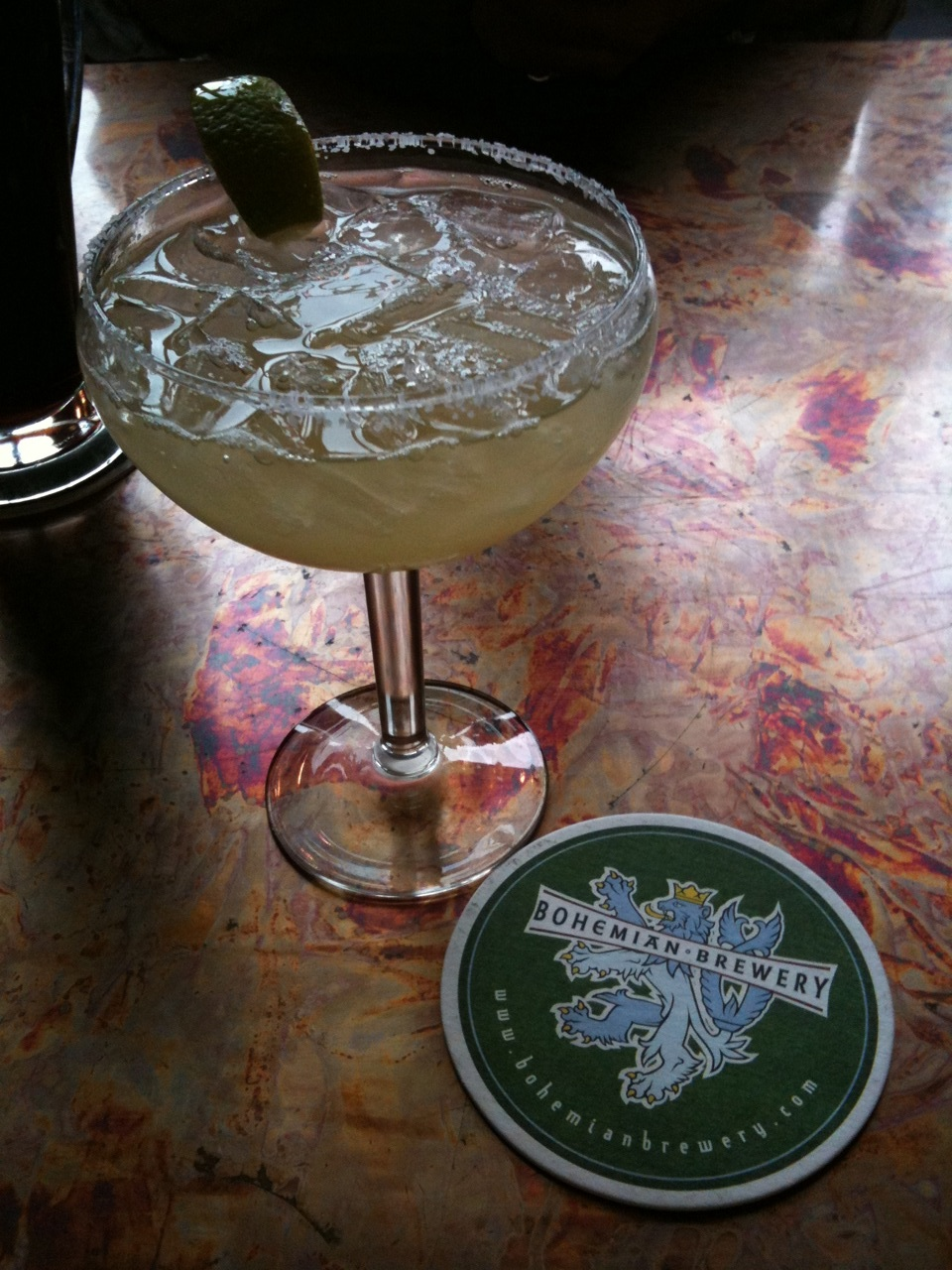 Sampling SLC: margaritas