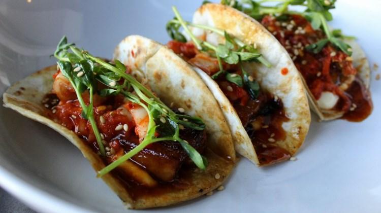 Avenues Proper - pork belly tacos