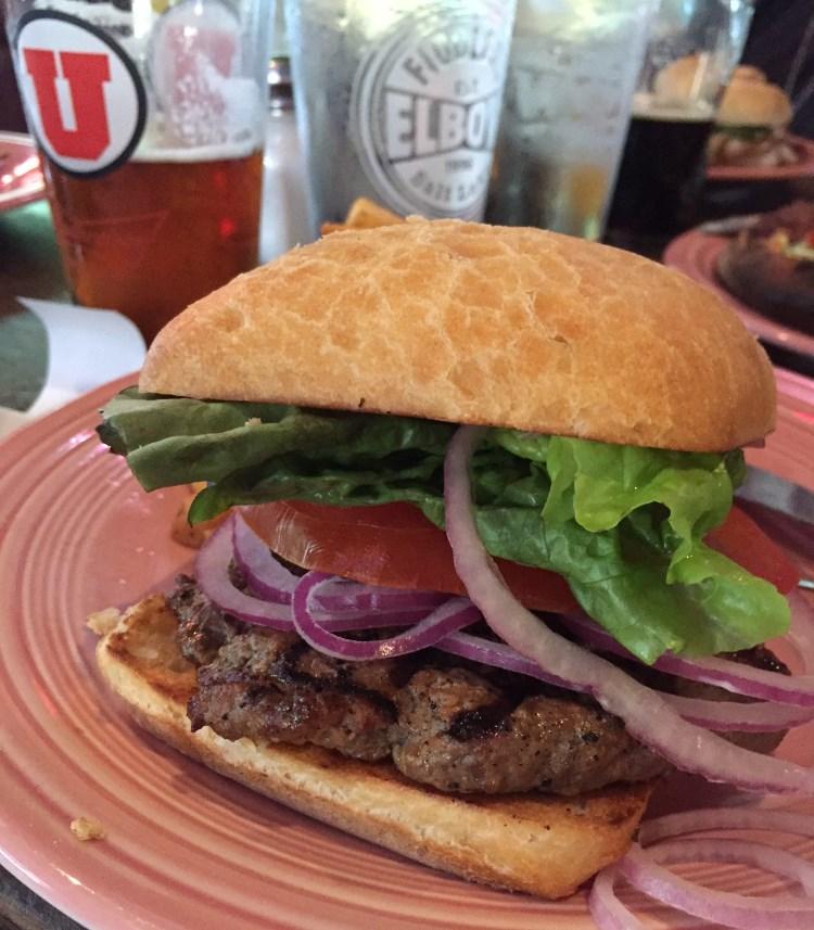 Fiddler's Elbow - burger