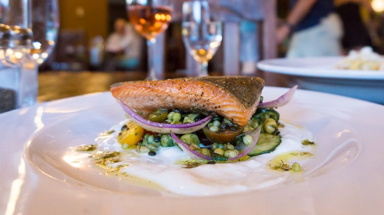 Honeycomb Grill - Utah steelhead trout
