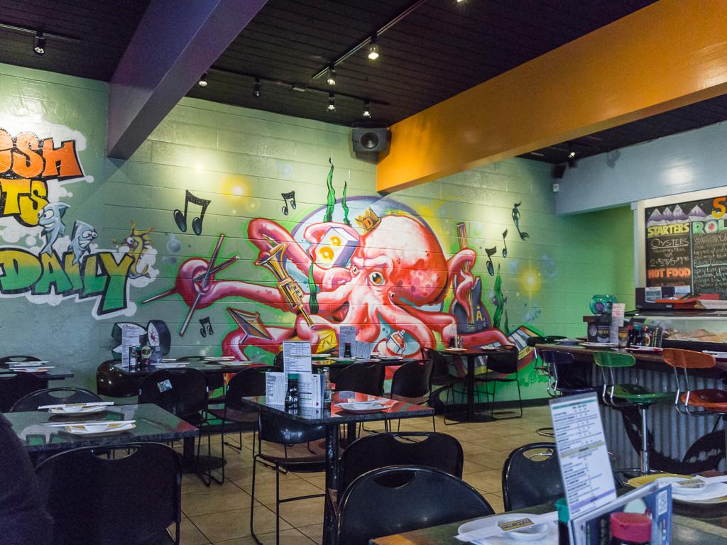 Sushi Groove: Interior