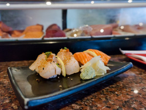 Sushi Groove: Nigiri at the sushi counter