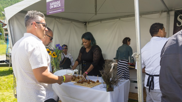 Taste Of The Wasatch 2015  garage on beck deep fried funeral potatoes