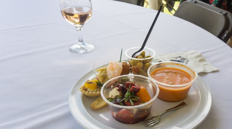Taste Of The Wasatch 2015 plate