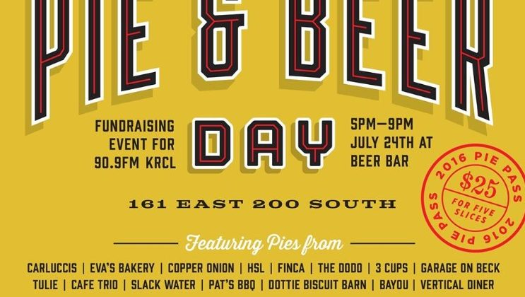 KRCL's Pie & Beer Day