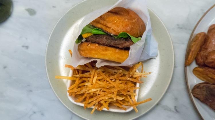 HSL, ten dollar cheeseburger and fries
