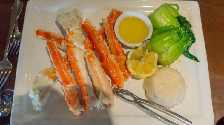 butchers chop house crab legs