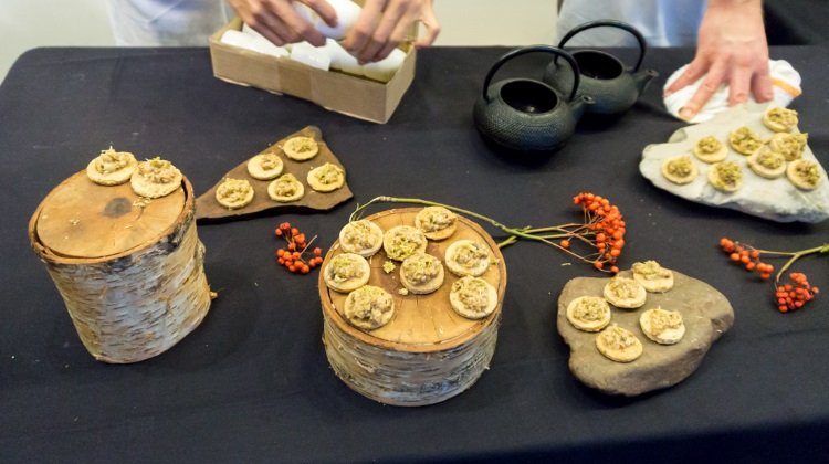 feast of five senses 2015 bowman brown mushroom tarts