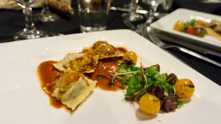 feast of five senses 2015 cafe bon appetit short rib ravioli