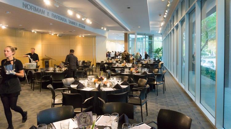 feast of five senses 2015 dining room