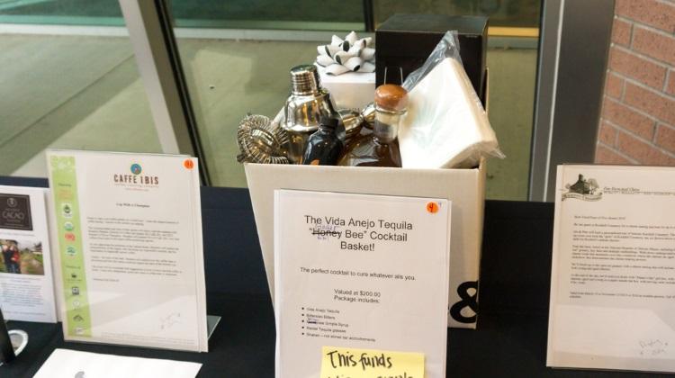 feast of five senses 2015 silent auction, vida tequila