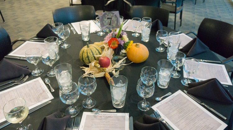 feast of five senses 2015 table settings