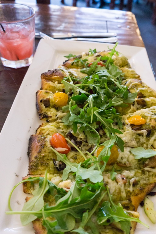 honeycomb grill flatbread
