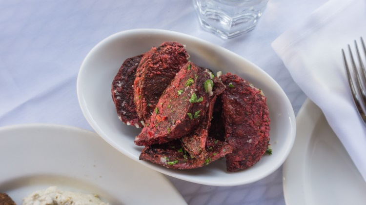 reefs restaurant beet fries