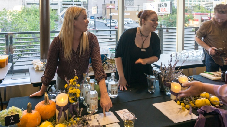 Farm To Glass 2015 awards party - Beehive Gin