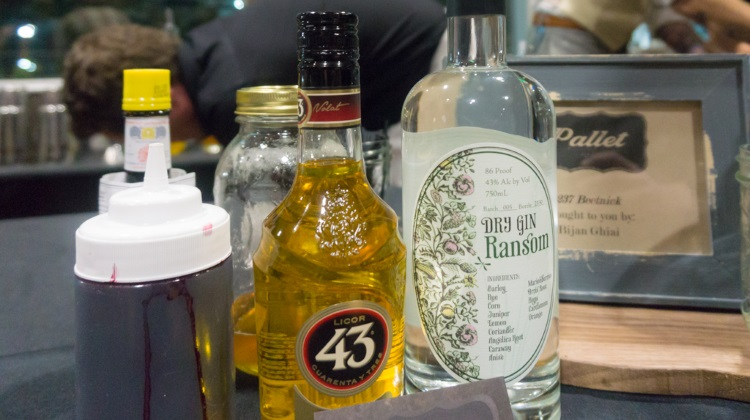 Farm To Glass 2015 awards party - Pallet