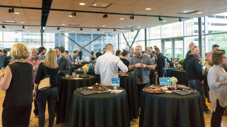 Farm To Glass 2015 awards party - party in full swing