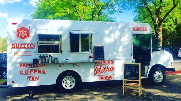 Buzzed coffee truck