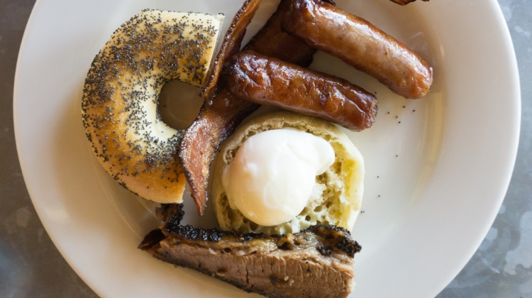 Blue Sky Ranch: High West Distillery, a meaty brunch plate