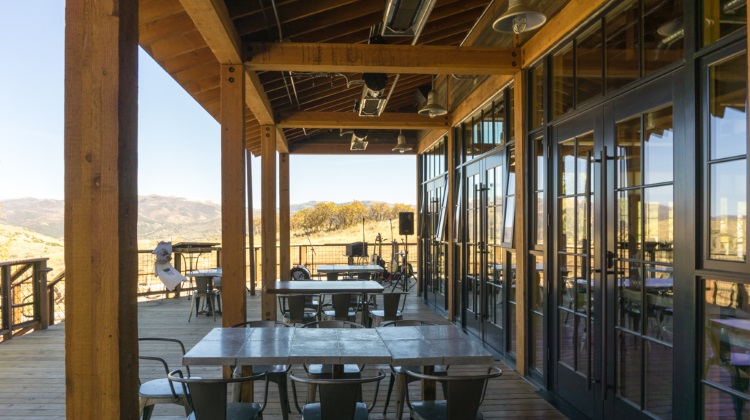 Blue Sky Ranch: High West Distillery brunch patio
