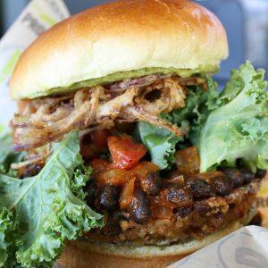 Proper Burger: vegan burger