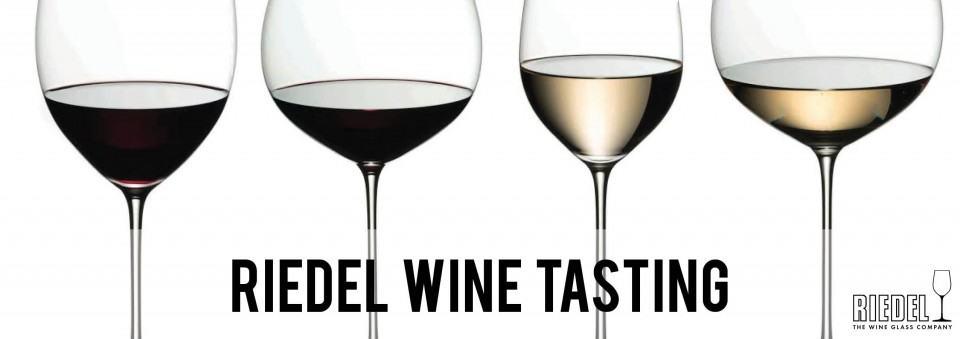 Riedel tasting wine dinner