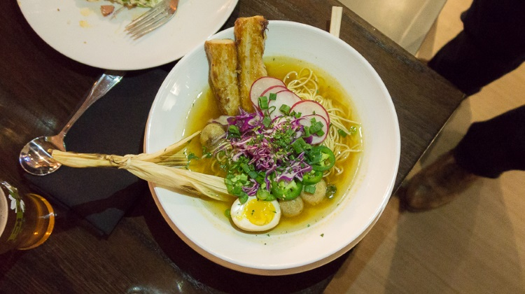 Black Sheep Cafe - posole ramen