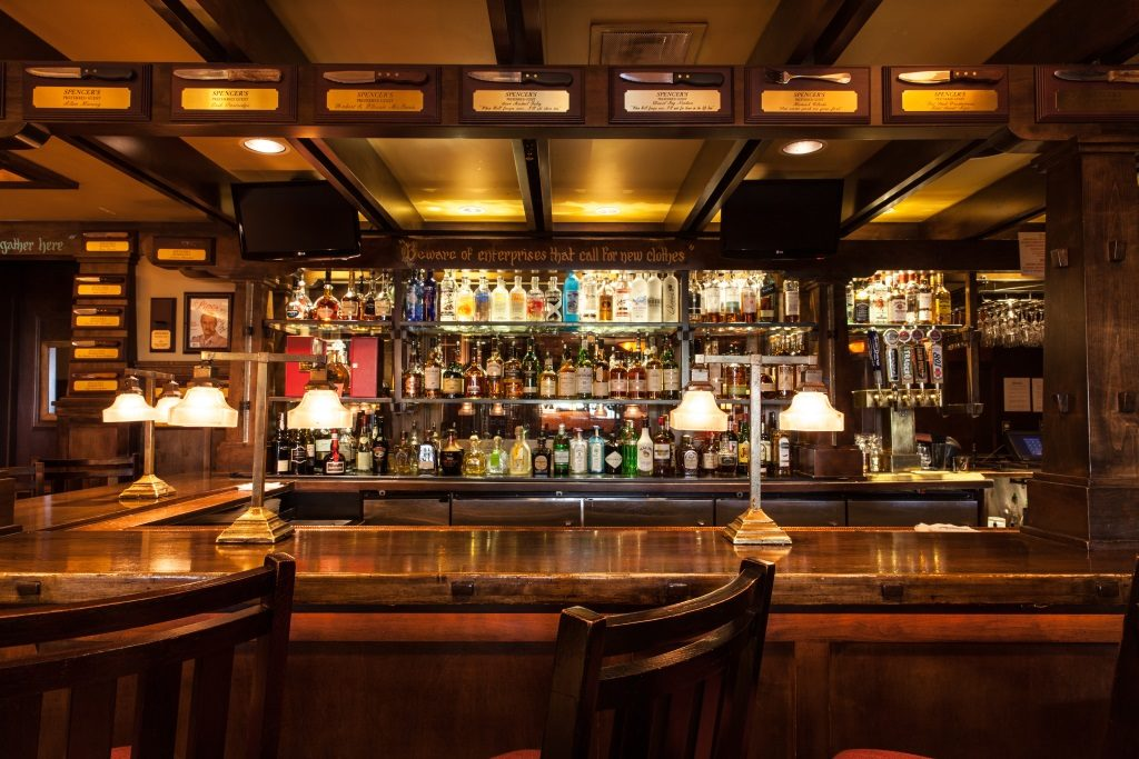 Cosy up to the bar and grab a luxurious special at Spencer's this Christmas day