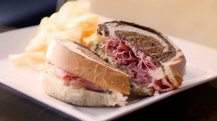 Charleston Cafe - reuben sandwich