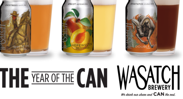 Wasatch Brewery - The Year Of The Can