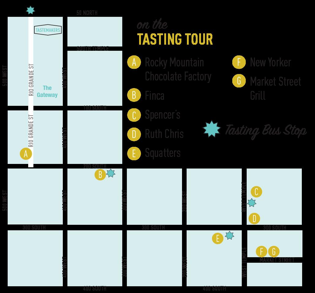 Tastemakers 2017 map