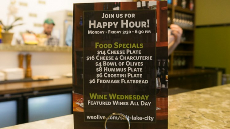 We Olive - happy hour