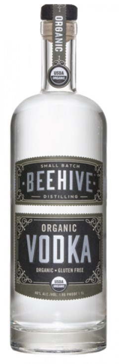 Beehive Distiling - organic vodka
