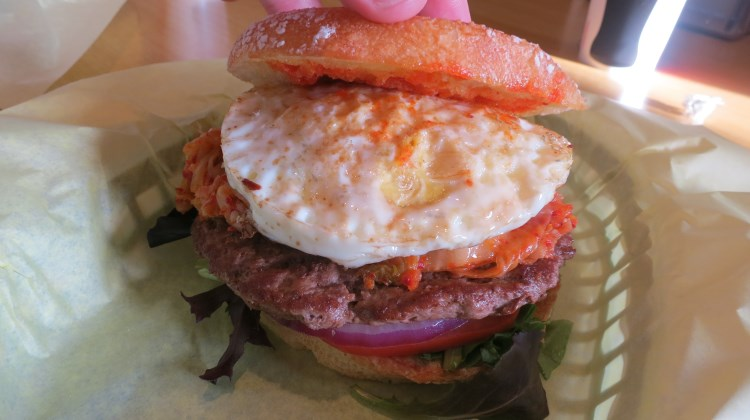 Bumblees BBQ - Mr Kim burger from Midvale location