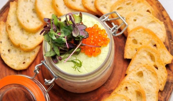 Goldener Hirsch Inn - salmon rillettes