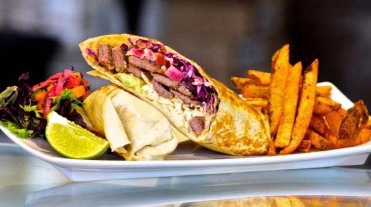 Sabores De Mexico - burrito de carne. Credit, Facebook.