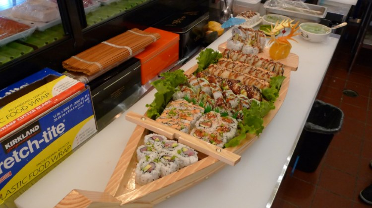 The Sushi - sushi boat. Credit, website.