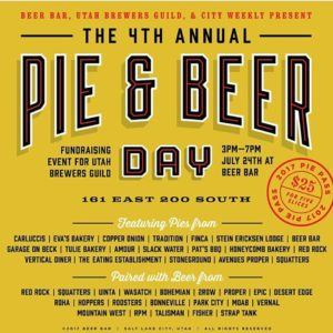 Pie and beer day 2017