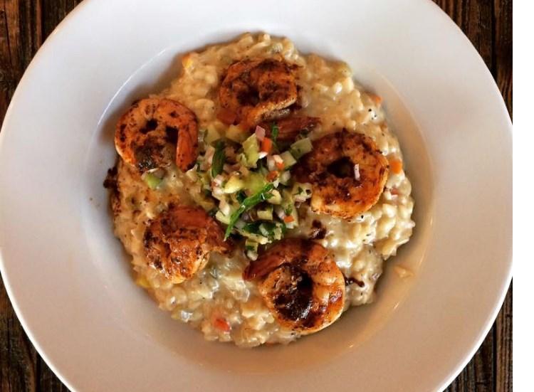 Porch - Cajun shrimp and grits