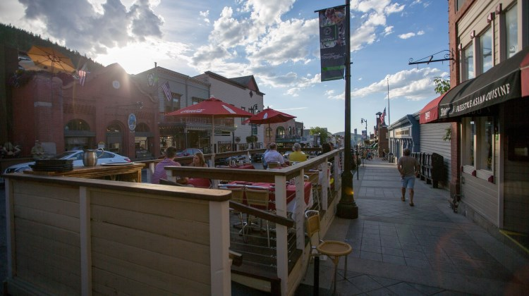 Shabu - patio on Main Street in Park City