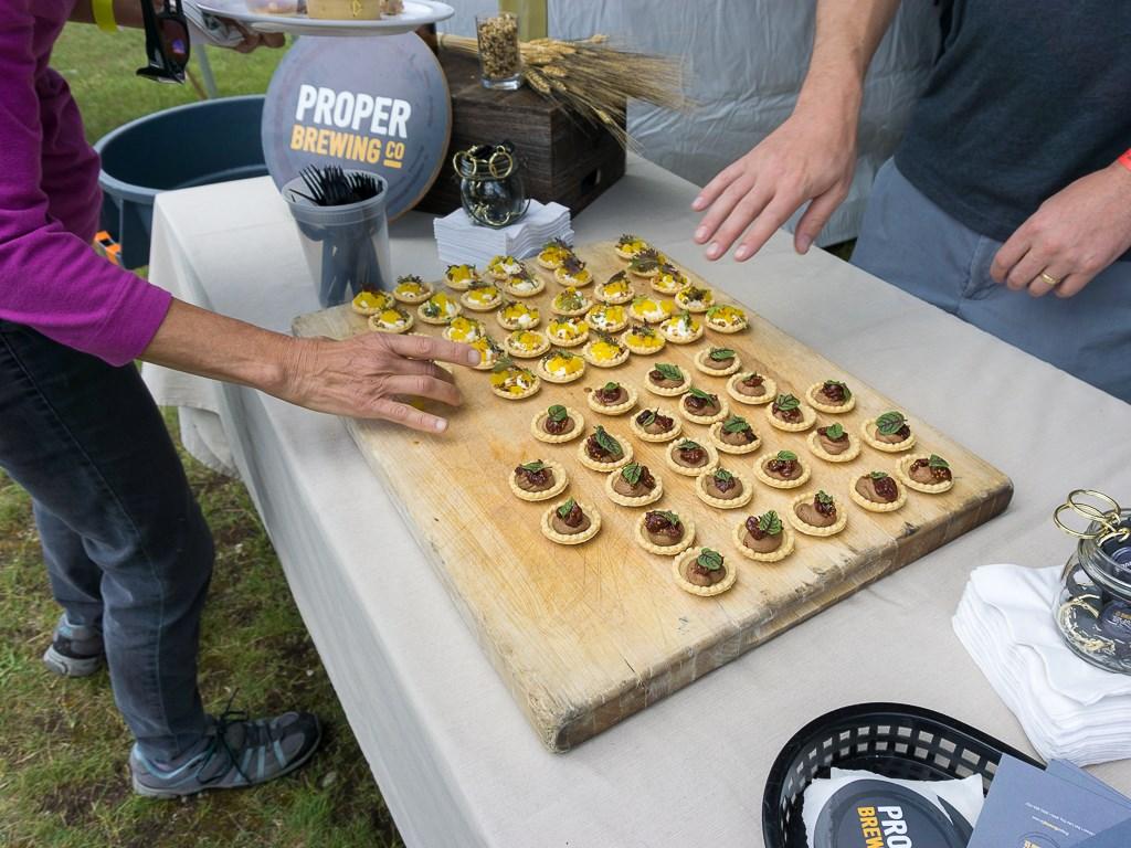 Taste Of The Wasatch 2016 - Proper Co tartlets