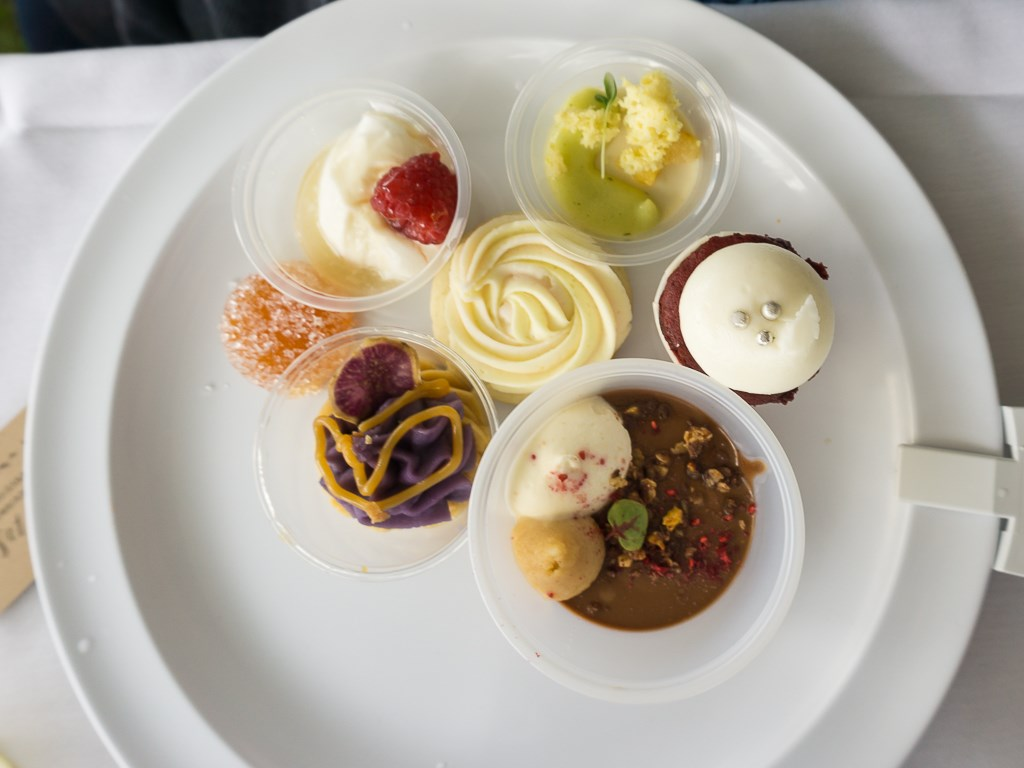 Taste Of The Wasatch 2016 - A mix of dessert items