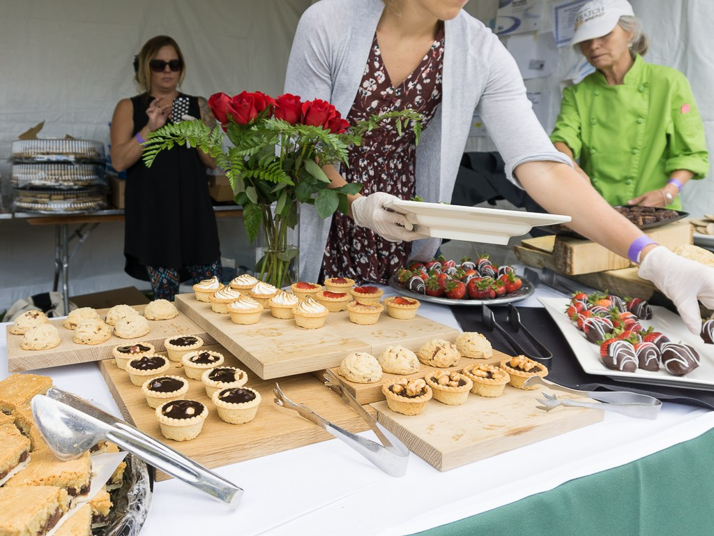 Taste Of The Wasatch 2016 - Dessert is served, you get the idea...