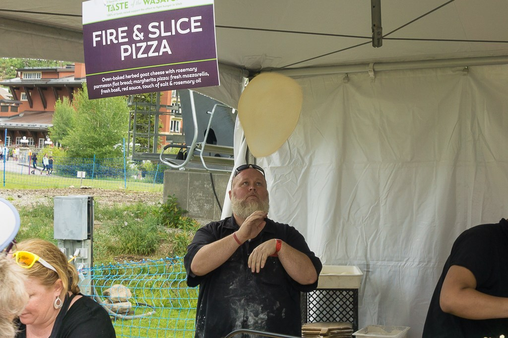 Taste Of The Wasatch 2016 - Fire And Slice Pizza