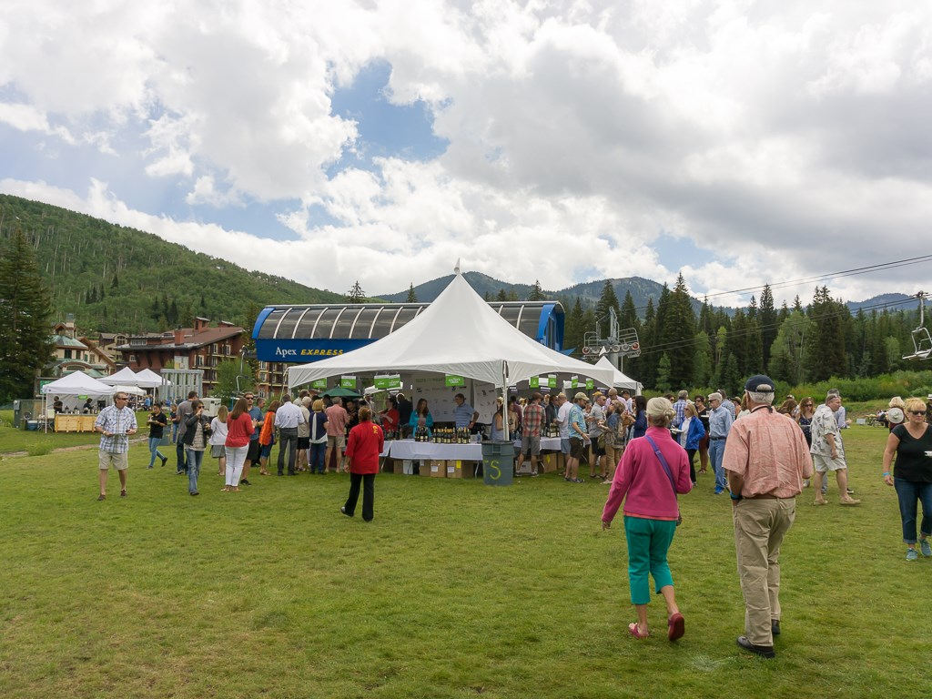 Taste Of The Wasatch 2016 - General admission wine tent