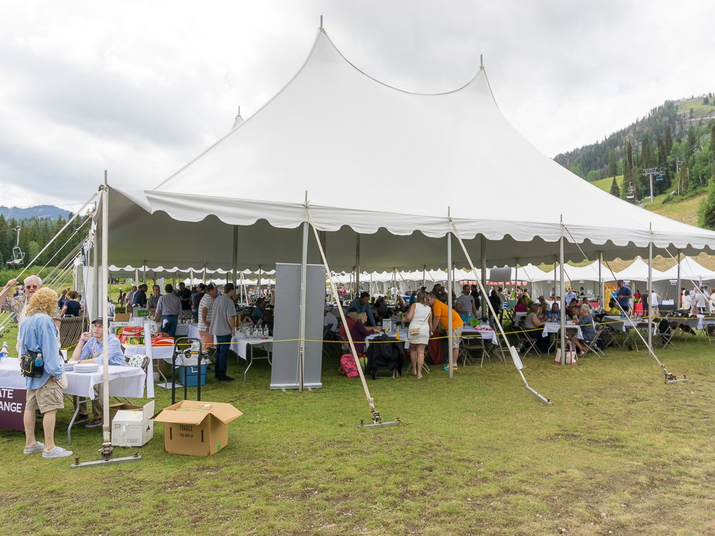 Taste Of The Wasatch 2016 - VIP tent