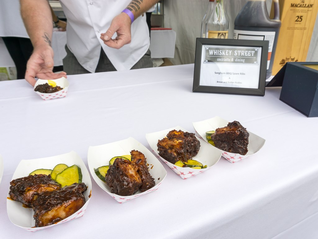 Taste Of The Wasatch 2016 - Whiskey Street spare ribs